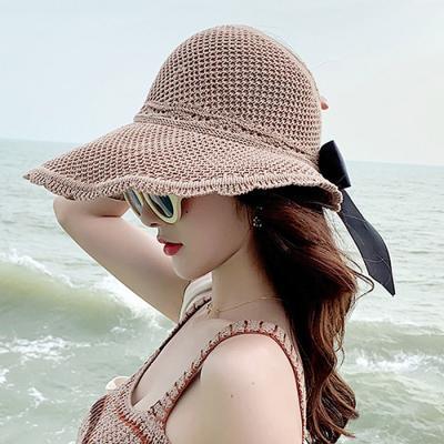 Mujer verano daily 손뜨개 버킷햇 4color CH1601651