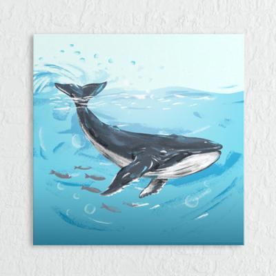 cq160-바다의동물들_일러스트_소형노프레임