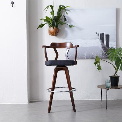 [리비니아][무료배송]대나무 스핀 바의자(304B)