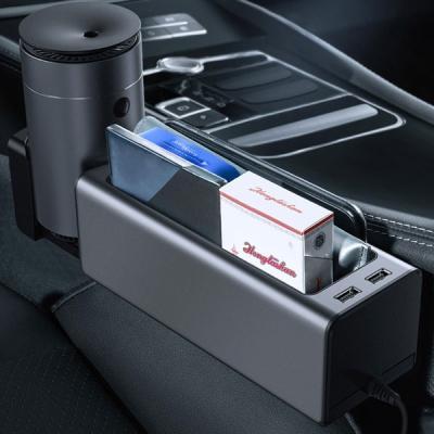 거치형 듀얼 USB 사이드 포켓 수납함