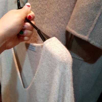 어깨라인이 살아있는 옷걸이 10개 세트