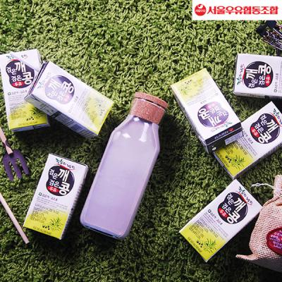[서울우유]검은깨 검은콩두유 190ml x 24팩