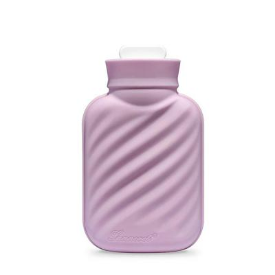 에바 실리콘 보냉/보온 물주머니-핑크 (파우치 증정)