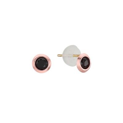 블랙 큐 모던 귀걸이 EOOM4111