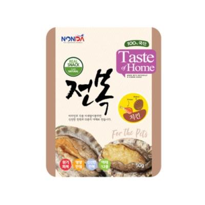 Nonda 전복 파우치 (치킨) 50g X 2개 (pt)