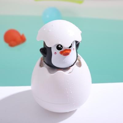 에그팝 유아 목욕놀이 물놀이 샤워 장난감 물총 펭귄