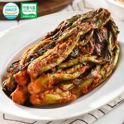 [전통식품인증] 여수 숙성 돌산갓김치 3kg