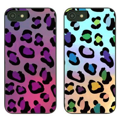 아이폰8케이스 leopard printed 샤이닝케이스