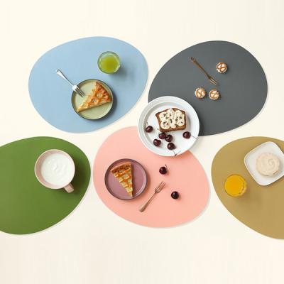 르리에 실리콘 식탁 테이블매트(오벌) 2개세트