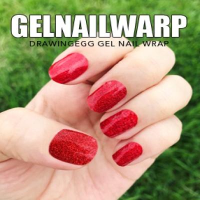드로잉에그 젤네일스티커 GNWP-RED 펄 레드