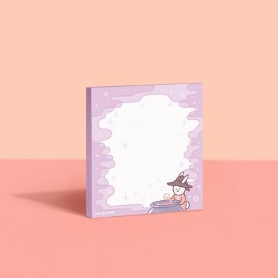 [공부일기] 스티키 노트 - 퐁퐁퐁 매직 포션 모트모트