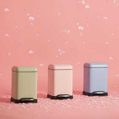 밀리 blossom 무소음 휴지통 6L (3종 택1)