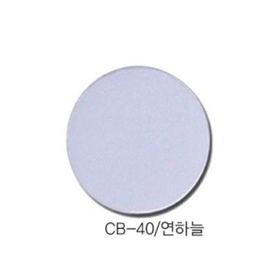 [현진아트] CB단면칼라우드락 5T 6X9 CB-40 연하늘 [장/1]  114469