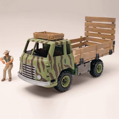 운전사가 있는 트럭