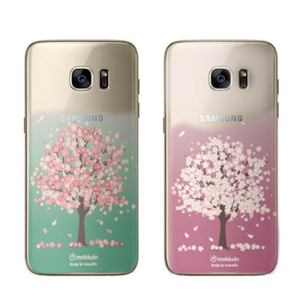 벚꽃나무 퓨어 젤리케이스(갤럭시S7)