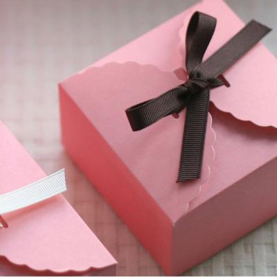 [대용량] 레이스컬러박스 핑크 소 50개