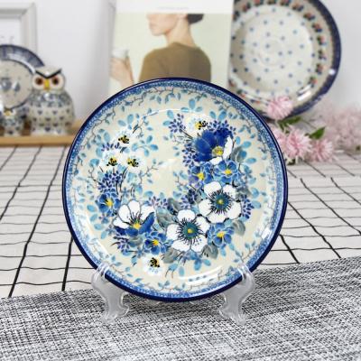 폴란드그릇 아티스티나 원형 접시 16cm 유니캇u4848