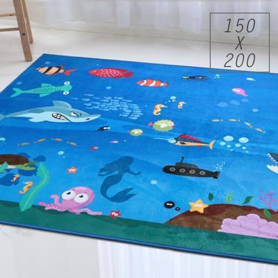 주노데코 바닷속 카페트 150x200cm