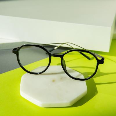 shine 블랙 슬림 뿔테 안경 뿔테 패션안경 안경테