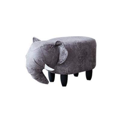 [리비니아][무료배송]동물 스툴 (진회색코끼리)