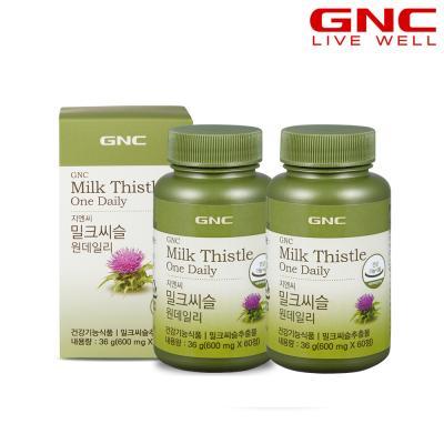 [GNC] 밀크씨슬 원 데일리 (60정) 30일분 x 2병