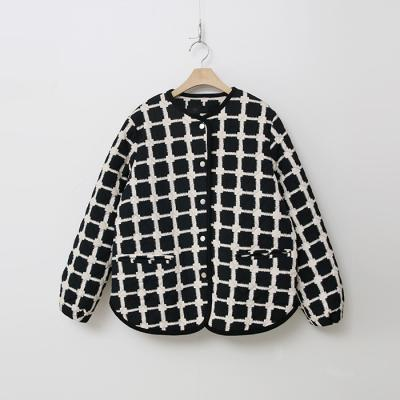 Square Quilting Jumper - 인조퍼안감