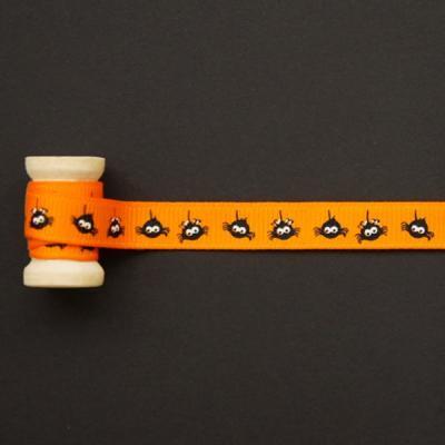 대롱대롱오렌지거미리본90cm