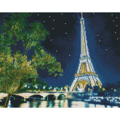 아이엠미니 DIY 보석십자수 40x50_에펠탑 전경