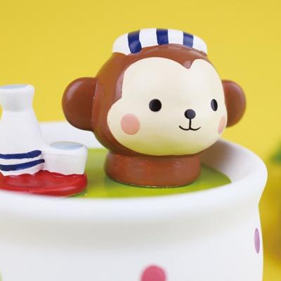 찻잔 속의 동물 친구 원숭이 (YA-722A)