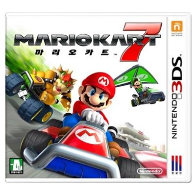 3DS 마리오카트7 한글판