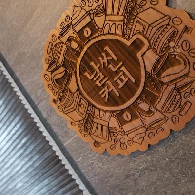 감성 원목 간판 카페 커피숍 매장 오픈 선물 미니