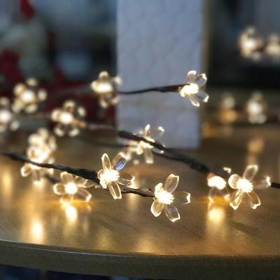 벚꽃 나뭇가지 LED 인테리어 조명