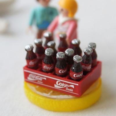 [HEIM] 박스 코카콜라 미니어처