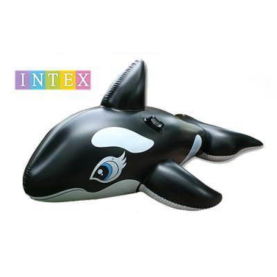 [무료배송][인텍스]대형 돌고래 물놀이 튜브 RIDE -ON