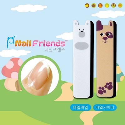 네일파일 and 샤이너 (Mini Friends-고미 and 아지)