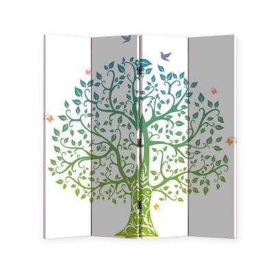[리비니아][무료배송]생명나무 4단 파티션(NY-1058-4)
