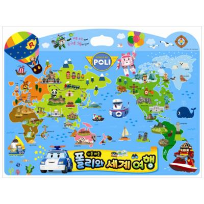 로보카폴리 이중 퍼즐 폴리와 세계 여행