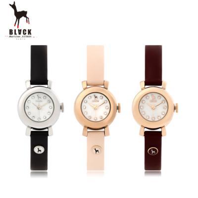 [블랙마틴싯봉] 여성 가죽 손목시계 BKL1536L