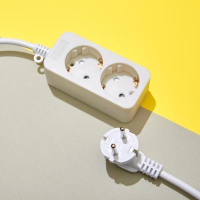 화이트 멀티탭 전선 2구 (10A) 1.5M 3M 5M 10M