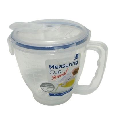 락앤락 뚜껑 계량컵 1L 이유식 비커 저울 라면물 눈금