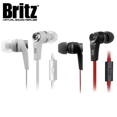 브리츠 스테레오 이어폰 P275 (통화+음악 / 고성능 마이크 / 스마트 컨트롤러 / 꼬임방지 플랫 케이블 / 케이블 아답터)