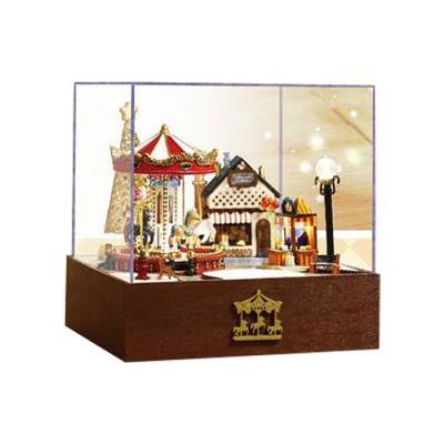 [adico]DIY미니어처 하우스 - 회전목마(크리스마스)