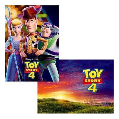디즈니 픽사 토이 스토리 25주년 기념 포스터 세트 1