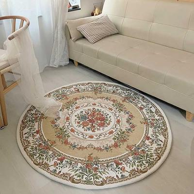 공간활용 Home interior 원형 러그 사이즈 120cm