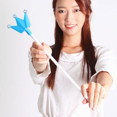 LED 왕관 큐티봉(블루)