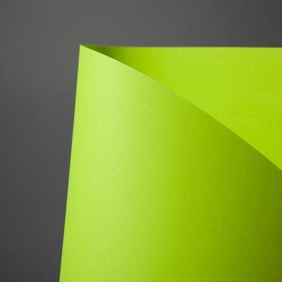 두성종이 칼라복사지 Q02 형광연녹색 A4 80g 25매포