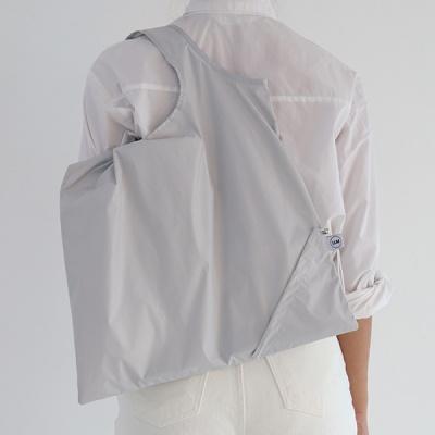 [칼라링백/라이트그레이] 에코백/시장가방/보조가방