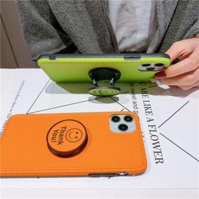 아이폰 SE2 8 7 8+ 7+  네온 컬러 젤리 그립톡 케이스
