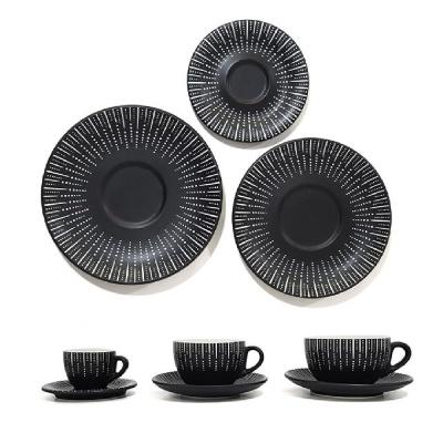 킴스아트 블랙퀸 커피잔 받침 3호 잔받침 커피잔받침