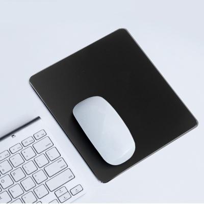 디자인 마우스 패드 / 블랙 알루미늄패드